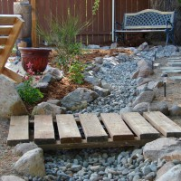 Photo Thumbnail #15: I've been making up the design of my yard as I...