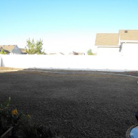 Photo Thumbnail #3: Back yard during landscaping