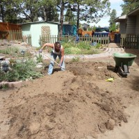 Photo Thumbnail #1: Dig a hole. Make it deep. Do all labor by hand...
