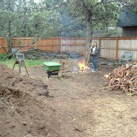 Photo Thumbnail #3: Tree clearing and burning