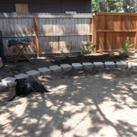 Photo Thumbnail #7: Set up initial retaining wall