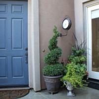Photo Thumbnail #5: Front door and 1 of 2 french doors in courtyard.
