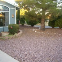 Photo Thumbnail #4: Picture to right of small garden showing the...