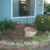 Photo Thumbnail #2: Right of the front door - small area for...