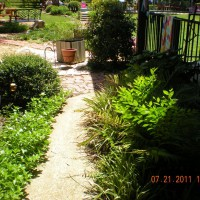 Photo Thumbnail #1: entrance to backyard