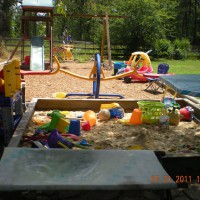 Photo Thumbnail #15: view of playground with sandbox