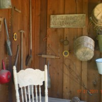 Photo Thumbnail #6: antique corner of back porch