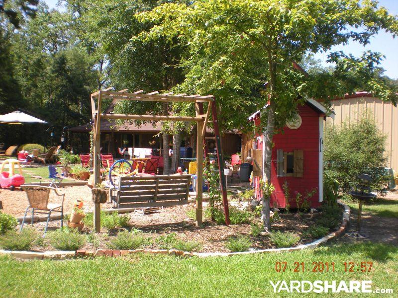 Landscaping Ideas Gt Debbie S Redneck Mansion Backyard
