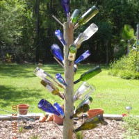 Photo Thumbnail #22: bottle tree, southern tradition