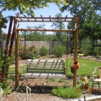 Photo Thumbnail #27: Every grandmother needs a swing to sit and...