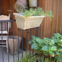 Photo Thumbnail #7: planter box and hydrangea