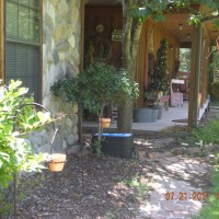 Photo Thumbnail #7: front of garage walkway