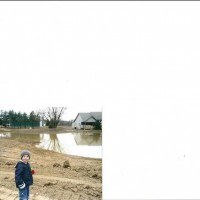 Photo Thumbnail #1: Pond in 2006, just a mud hole.... Daughters...