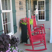 Photo Thumbnail #2: Painted rockers