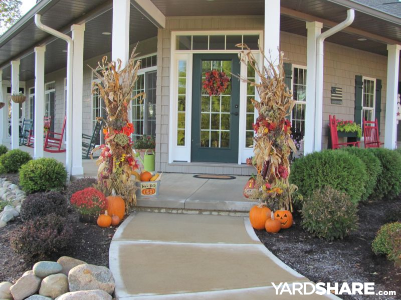 Landscaping Ideas Long Front Porch On Cottage