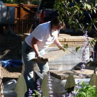 Photo Thumbnail #5: Carry heavy pavers - by hand - clear across the...