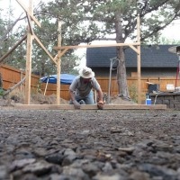 Photo Thumbnail #4: Level the gravel