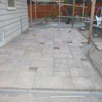 Photo Thumbnail #6: Start laying pavers!