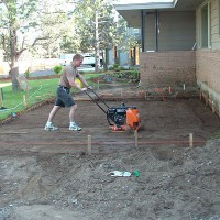 Photo Thumbnail #2: Dig it out, level it up, tamp it down