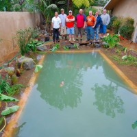Photo Thumbnail #23: Swim pond completed
