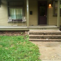 Photo Thumbnail #4: View of front porch I would like to highlight