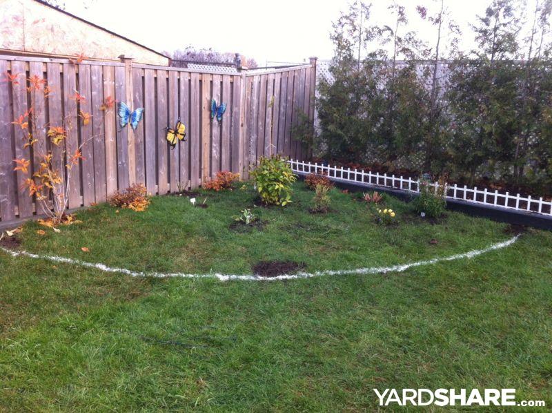 Landscape Triangular Backyard U2013 Izvipi.com