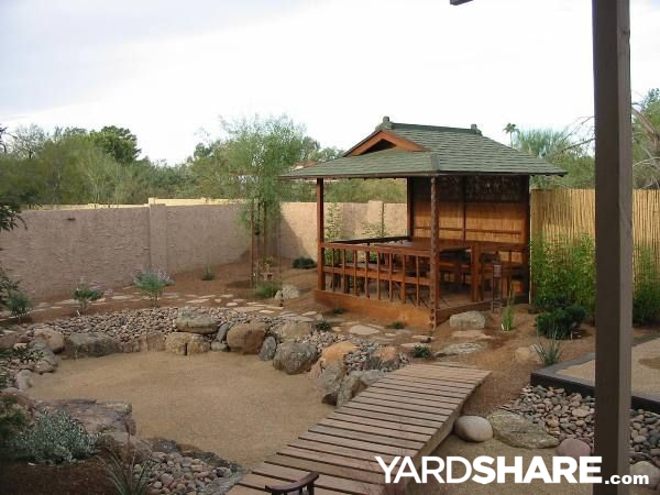 Landscaping ideas japanese tea garden for Japanese garden small yard