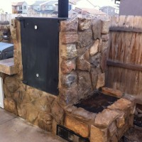 Photo Thumbnail #5: Fire box and smoke chamber.  30in x 30in x 6ft...