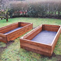 Photo Thumbnail #1: 8x4 Raised bed gardens, back yard