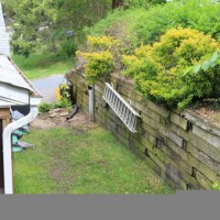 Photo Thumbnail #1: old retaining wall