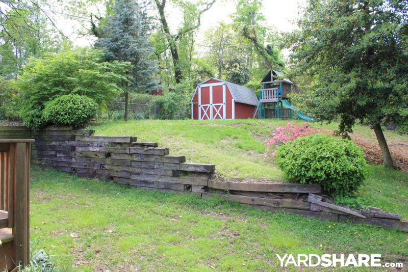 Landscaping ideas back yard new retaining wall - Yard retaining wall ideas ...