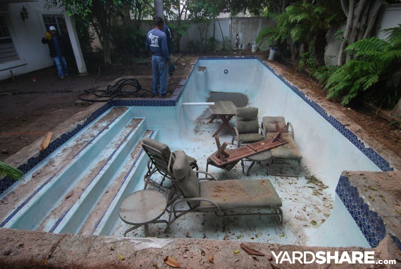 landscaping ideas swimming pool to rainwater harvesting On convert swimming pool to garden