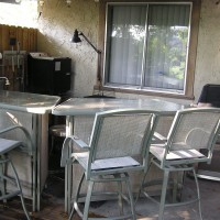 Photo Thumbnail #16: Added an L Bar to the Outdoor Kitchen