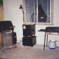 Photo Thumbnail #15: First components of the out door kitchen....