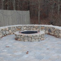 Photo Thumbnail #25: Our latest addition, our patio and firepit.