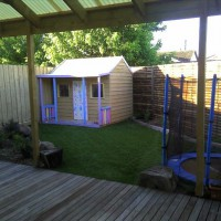 Photo Thumbnail #2: Untreated Pine (kidsafe). Cubby purchased as...
