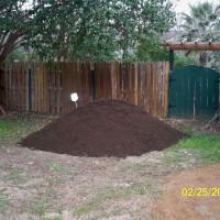 Photo Thumbnail #12: Organic soild was delivered