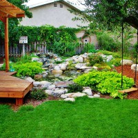 Photo Thumbnail #3: An inviting backyard
