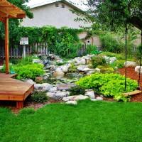 Photo Thumbnail #3: An inviting backyard