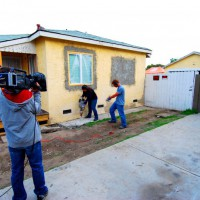 Photo Thumbnail #7: Filming of the driveway installation