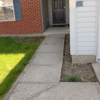 Photo Thumbnail #4: The closer to the front door the more shaded...