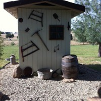 Photo Thumbnail #11: Converted old pumphouse into mining shack