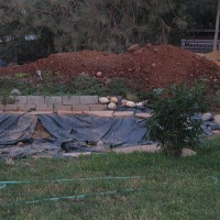 Photo Thumbnail #1: Starting from flat pasture, the pond was dug...