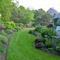 Photo Thumbnail #17: A view of our patio and the garden on the hill...