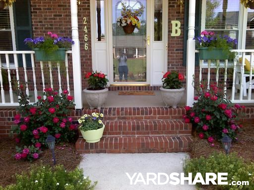 Landscaping Ideas Front Porch Entry