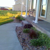 Photo Thumbnail #2: this is where i tried planting the hostas but...