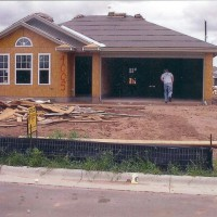 Photo Thumbnail #18: My house and the debris everywhere. May 2005....
