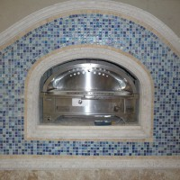 Photo Thumbnail #3: Shown here is a Kalamazoo Pizza Oven.