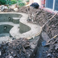 Photo Thumbnail #6: The concrete is poured 10 inches thick