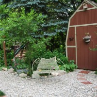 Photo Thumbnail #15: The bunny barn. There is a little bunny...